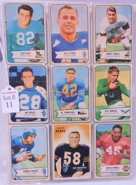 1960's Football Cards