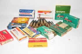 Large Lot Of Rifle Ammo