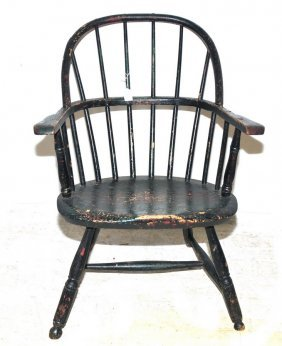 Firehouse Windsor Arm Chair In Old Paint