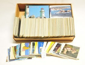 1500 Postcards Photos Of Historical Places