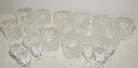 Collection Of Waterford Crystal