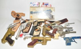 Collection Of Toy Guns