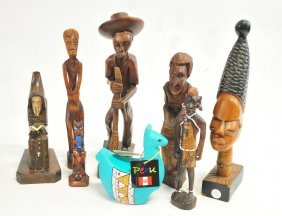 Collection Of Carved Figures
