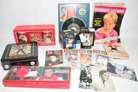 Two Boxes Of Elvis Memorabilia