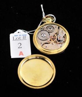 21 Jewel Hamilton Railroad Pocket Watch