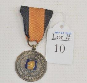 1968 Boston Marathon Medal/ribbon