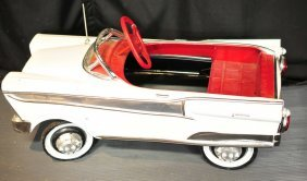 Antique Pedal Car, Repainted