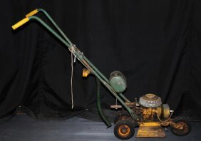 Antique Bunton Mini Lawn Mower