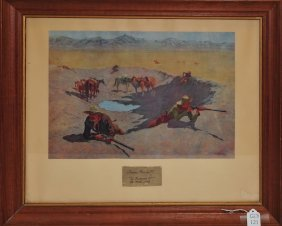 1908 Frederic Remington Print