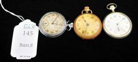 Three Antique Pocket Watches