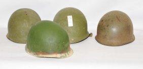 Three Vietnam Era Military Helmets