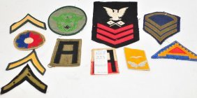 Collection Of Wwii Military Patches