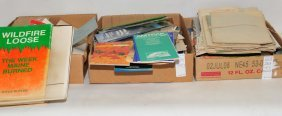 Three Boxes Of Ephemera