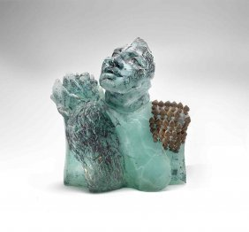 Irene Frolic Labyrinth 1991 Glass Art Habatat