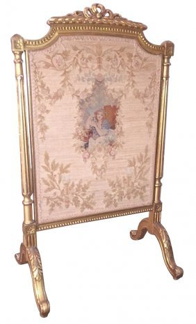 Exquisite 19th C. French Louis Xvi Gilt-wood