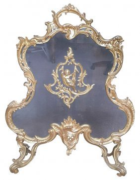 Very Fine 19th C. French Gold Washed Bronze