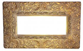 A 19th Century French Gilt-wood Frame