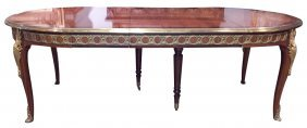 Fine Quality French Louis Xv Style Dining Table