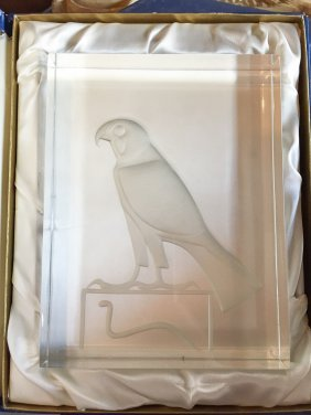 Baccarat Limited Edition Egyptian Falcon