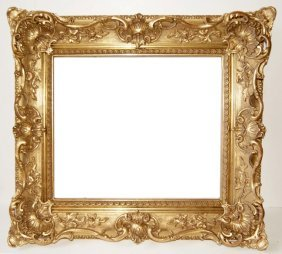 American 19th C. Gilded Louis Style Frame