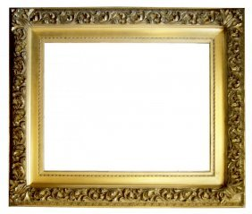American 19th C. Gilded Barbizon Frame