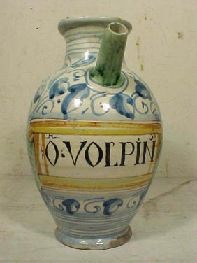 "Wet Drug Jar, ""O.VOLPIN"""