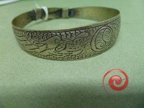 DRAGON And PHOENIX Silver Bracelet