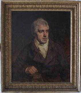 English School Around 1800, Portrait Study Of A