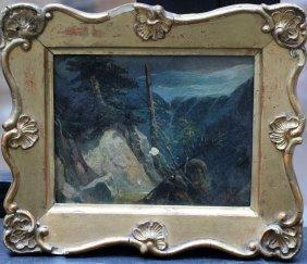 Josef Navrátil (1798-1856)-attributed, Wild Landscape