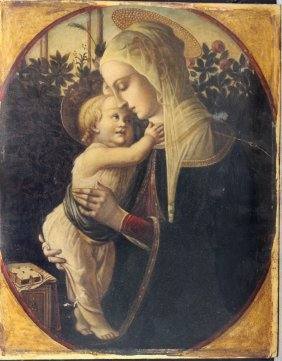 Perino Del Vaga (1501-1547)-follower, Maria With Jesus