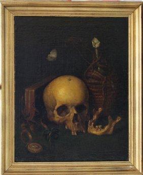 Harmen Steenwijck (1612 – 1656)-attributed, Vanitas