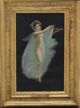 Michelangelo Maestri (died 1812)-manner, Naked Vestal