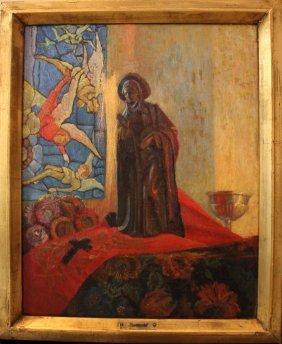 Emile Bernard (1868-1941)-studio, Still Life With