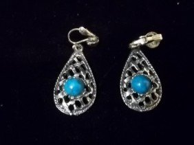 Native American Turquiose Style Earings