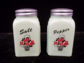 Jadite Salt & Pepper