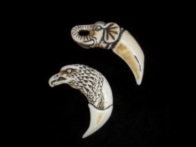 Eagle Elephant Pendants
