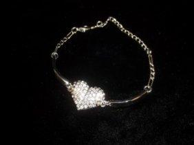 Rhinestone Tennis Bracelet
