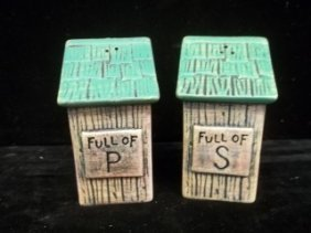 Outhouse Salt & Pepper