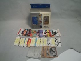 03 UD Disney Treasures Lot W Reel Piece History