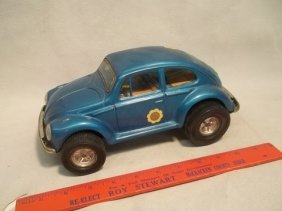 Aoshin Japan Tin Volkswagen Vintage Toy Beetle