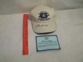 Jose Canseco Autographed Yankees Cap