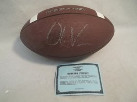 Autograph Football W COA