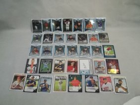 Bowman Chrome RC Auto & More Lot Braun Bruce