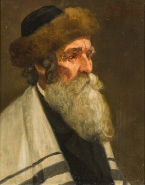 A Painting By Josef Johan Suss. Austrian, C. 1900. Oil