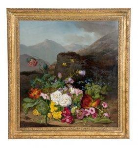 """Leopold Brunner: """"floral Landscape"""""""