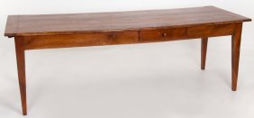 French Fruitwood Farm Table