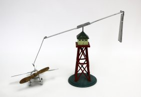 Flying Monoplane And Tower, Bing Brand