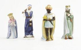 Lot Of Four (4) Goebel Hummel Porcelain Religious Figur