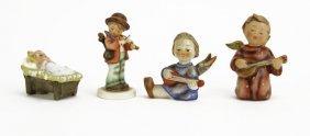 Lot Of Four (4) Goebel Hummel Porcelain Figures. Good