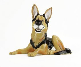 Pets With Personalities Composition German Shepherd Fig